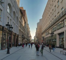 Fashion Street - Deák Ferenc tértől a Vörösmarty térig